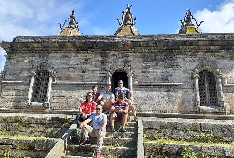 Team Wildstone in Shivalaya
