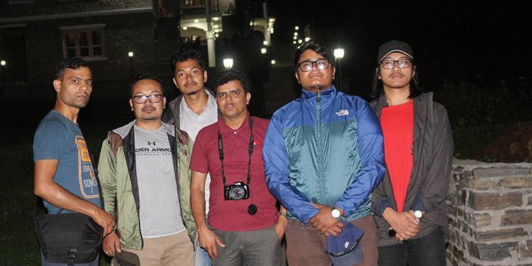 Team Wildstone Team in Chitlang Resort