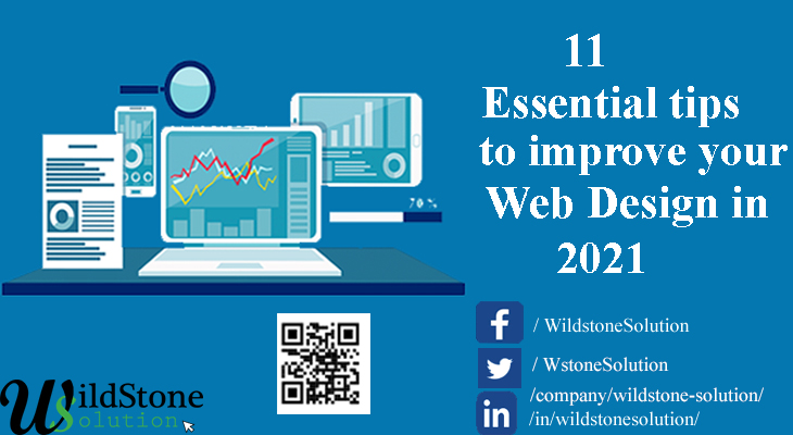 11 Essential tips for starters to improve your web design in 2021