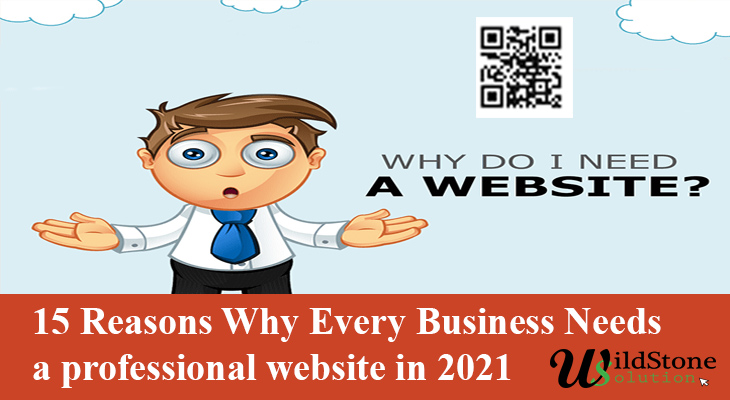 15 Reasons Why Every Business Needs a professional website in 2021