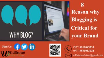 8 Reasons why Blogging is Critical for your Brand