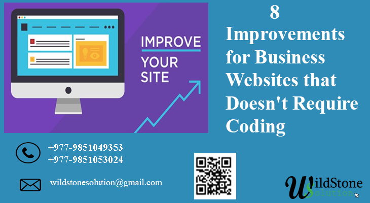 8 Improvements for Business Websites that Doesn't Require Coding
